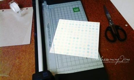trim accent paper